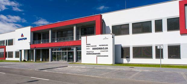 Siedziba spółki Apator w Ostaszewie koło Torunia