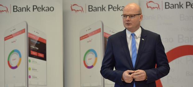 Marek Tomczuk, wiceprezes zarządu Banku Pekao S.A.