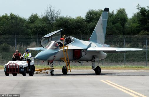 Rewolucja w szkoleniu pilotów bojowych się odwleka. Podchorążowie siądą za sterami M-346 dopiero za rok
