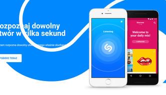 Apple kupuje Shazam. Popularna aplikacja rozpoznająca utwory wyceniona na 400 mln dol.