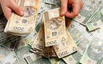 Dług u fiskusa potaniał o 1,5 pkt procentowego