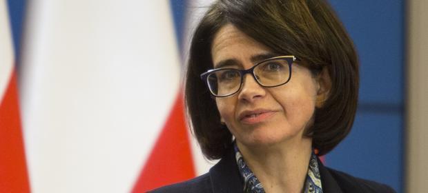Anna Streżyńska, była szefowa resortu cyfryzacji. Z administracji znów wraca do biznesu