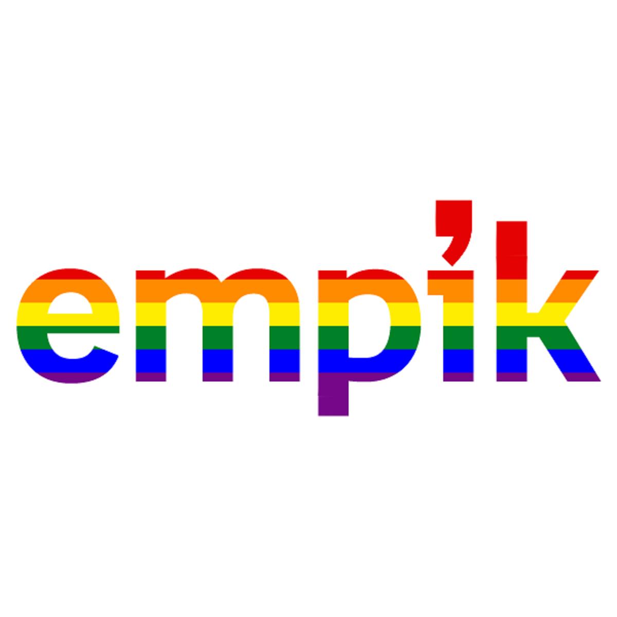 Empik zmienia logo na tęczowe przed Paradą Równości. Fala hejtu na portalach społecznościowych