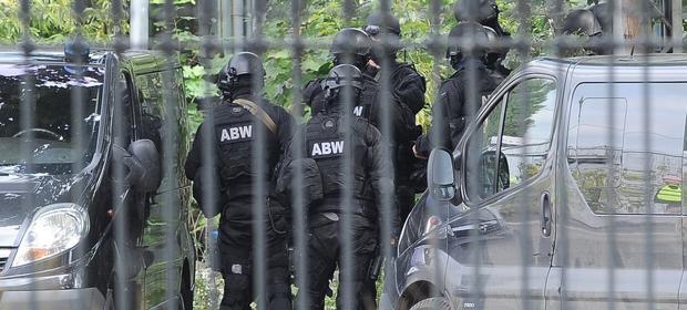 Agencja Bezpieczeństwa Wewnętrznego w akcji.