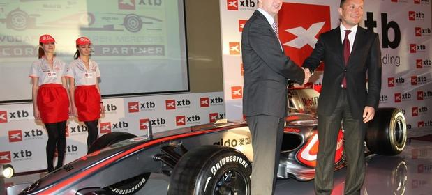 Dom Maklerski XTB był jednym ze sponsorów teamu Formuły 1.