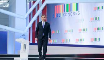 """Andrzej Duda na Kongresie 590 zapowiedział kolejne wsparcie dla biznesu. """"Przedsiębiorczość dobrem Rzeczypospolitej"""""""