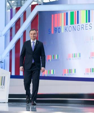 Kongres 590 w Jasionce koło Rzeszowa. Mateusz Morawiecki ze specjalnym przemówieniem