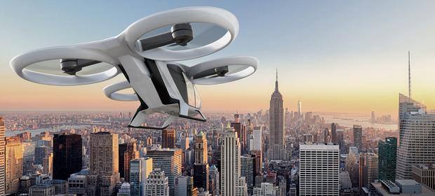 Nie wiadomo jeszcze, jak będą wyglądały latające taksówki. Airbus pokazuje na razie tylko wizualizacje