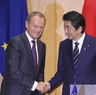 Wielka umowa handlowa UE z Japonią. Powstanie strefa wolnego handlu obejmująca ponad 600 mln osób
