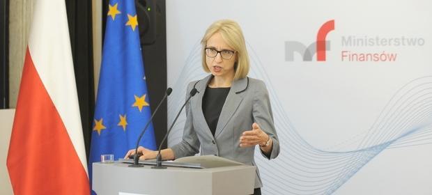"""Minister finansów Teresa Czerwińska zapowiadała """"wyważenie interesów podatnika i fiskusa""""."""