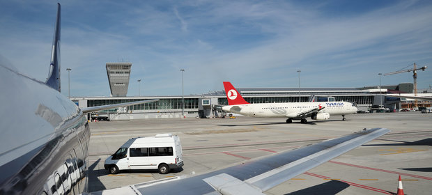 Lotnisko ma również dużo lotów czarterowych