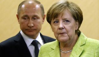 Putin zastawia pułapkę na Merkel. Bytyjska prasa ostrzega