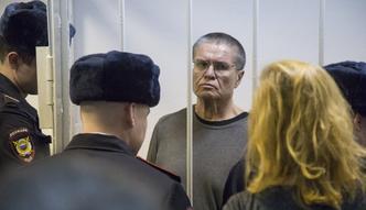 8 lat więzienia dla byłego rosyjskiego ministra gospodarki. Aleksiej Ułukajew winny przyjęcia 2 mln dol. łapówki