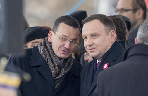 Premier Mateusz Morawiecki stawia na negocjacje z Europą, prezydent Andrzej Duda technologie i Chiny. Oto Polska w Davos