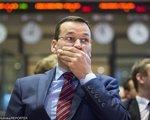 Reakcja rynku na expose premiera. Duże pieniądze na giełdzie na koniec sesji i spadek złotego