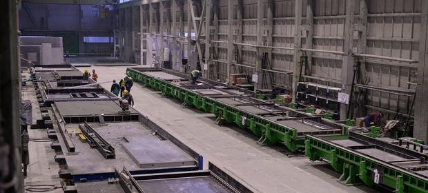 Hala produkcyjna prefabrykatów